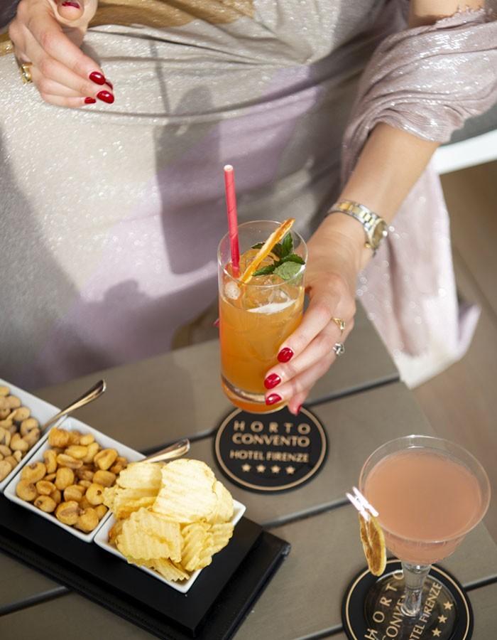 Horto Hotel Firenze Cocktail in Giardino