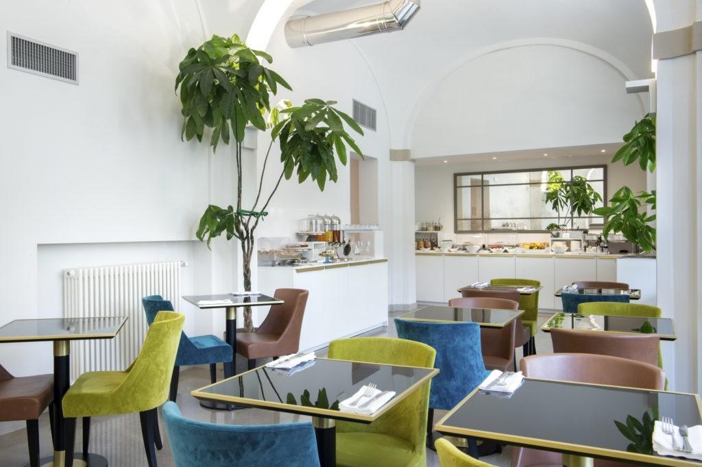 Sala colazione horto convento hotel a Firenze